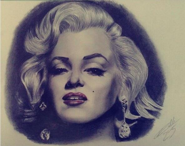 Marilyn Monroe por RobertoMalta89